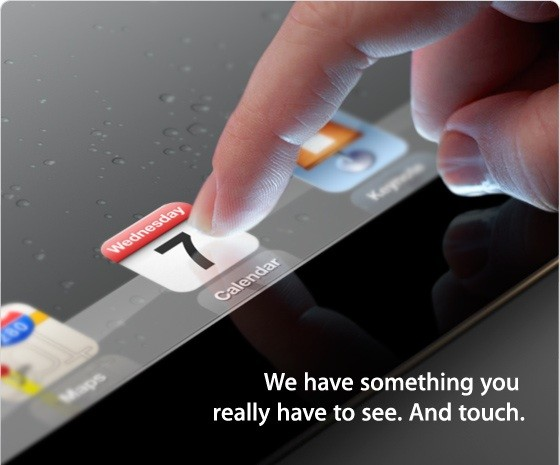 EHR Apple iPad 3 Announcement