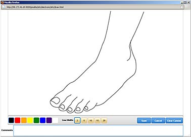 EHR Drawing Tool MediDraw