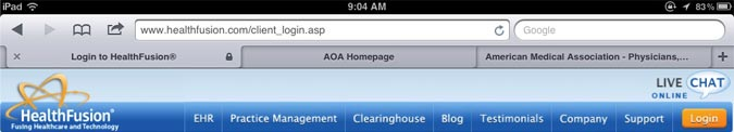 iOS5 Safari tabbed browser