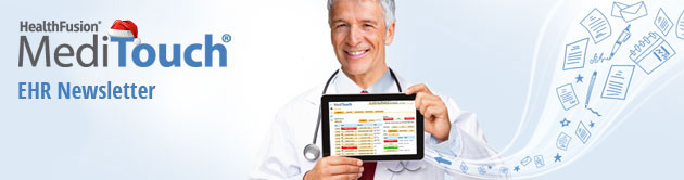MediTouch EHR Newsletter from HealthFusion